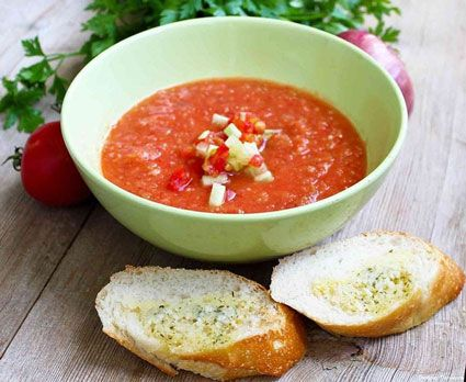 kulinariya  | kak prigotovit sup gaspacho 2 | Как приготовить суп гаспачо | Суп Борщ
