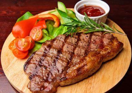 kulinariya  | klassicheskiy steyk 2 | Классический стейк | Мясные блюда