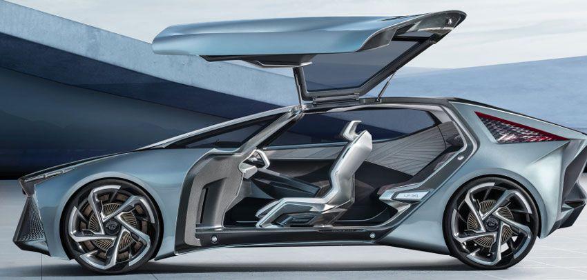 yelektromobili koncept avto  | lexus lf 30 electrified 2 | Lexus LF 30 Electrified (Лексус ЛФ 30 Электрифиед) | Lexus LF 30 Electrified