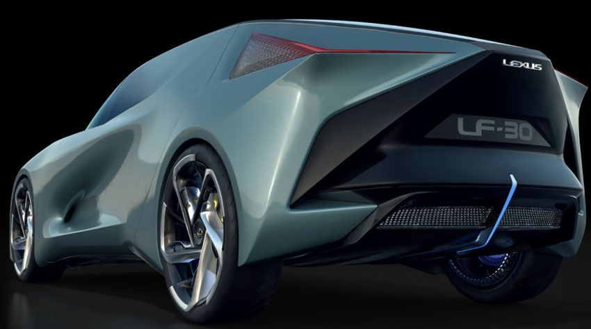 yelektromobili koncept avto  | lexus lf 30 electrified 3 | Lexus LF 30 Electrified (Лексус ЛФ 30 Электрифиед) | Lexus LF 30 Electrified
