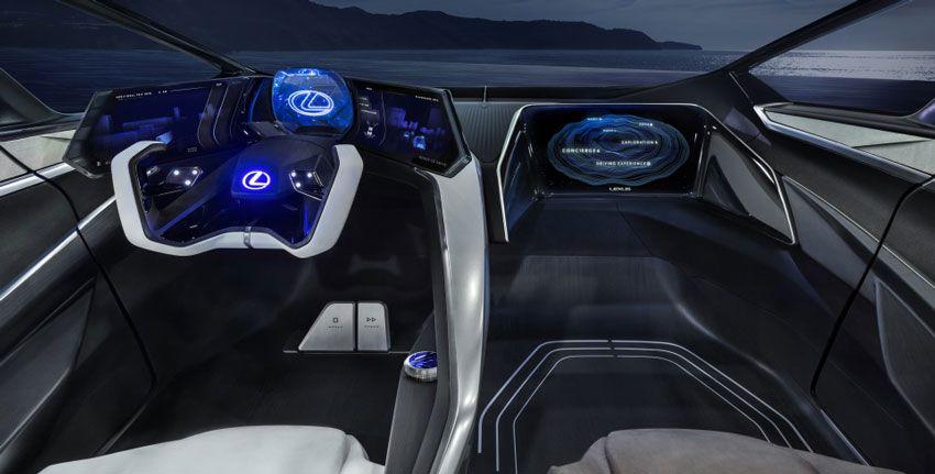 yelektromobili koncept avto  | lexus lf 30 electrified 4 | Lexus LF 30 Electrified (Лексус ЛФ 30 Электрифиед) | Lexus LF 30 Electrified