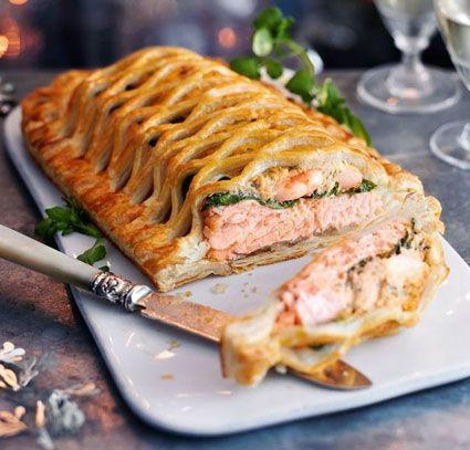kulinariya    losos en crout 1   Лосось en crout   Рыбные блюда