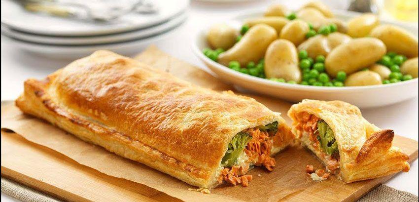 kulinariya    losos en crout 2   Лосось en crout   Рыбные блюда