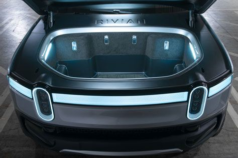 yelektromobili koncept avto  | rivian r1t polnostyu yelektricheskiy pikap 7 | Rivian R1T полностью электрический пикап | Rivian R1T