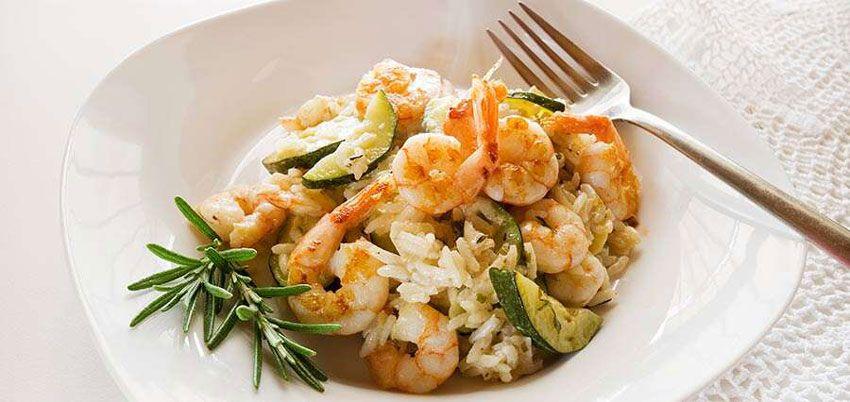 kulinariya  | rizotto s krevetkami 2 | Ризотто с креветками |