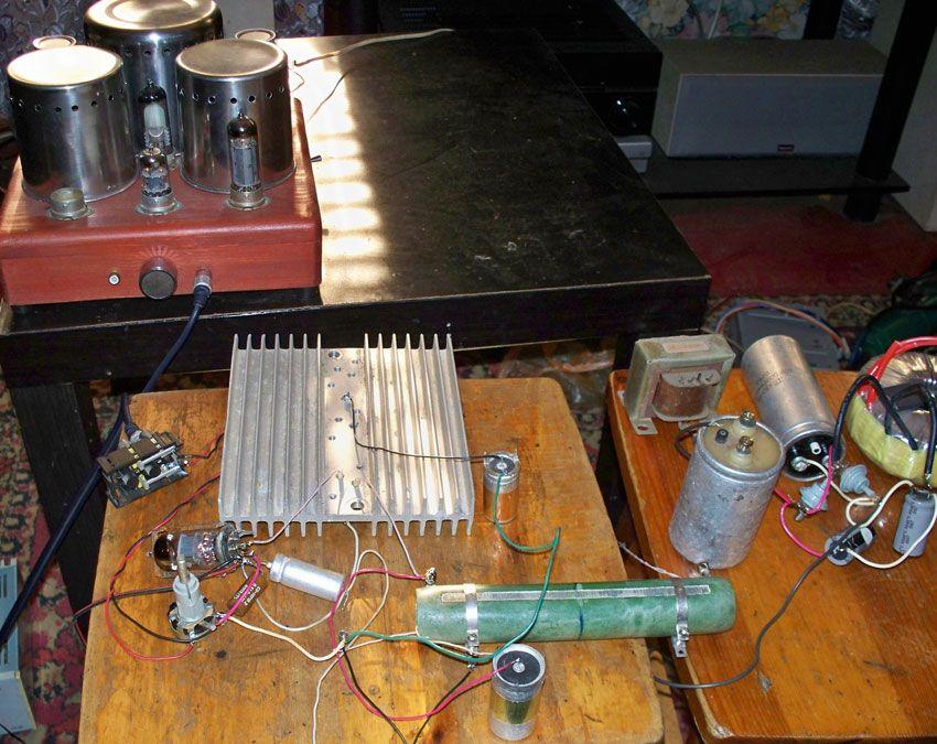 audiofiliya  | uselitel kramera5 | Гибридный усилитель класса «А» | Гибридный усилитель
